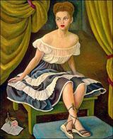 Portrait of Mrs Elisa Saldivar de Gutierrez Roldan 1946 By Diego Rivera