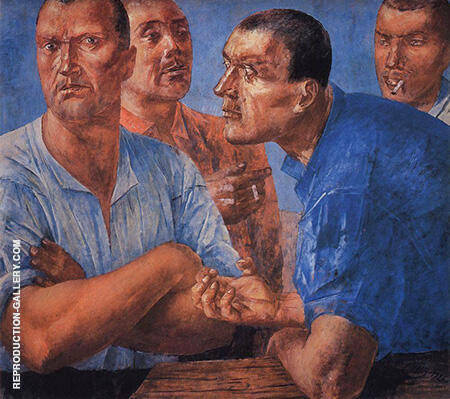 Workers 1926 By Kuzma Petrov-Vodkin