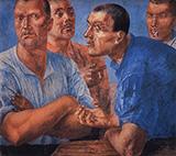 Workers 1926 By Kuzma Petrov-Vodkin