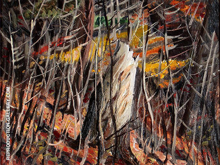 Woods in Autumn 1944 By Jack Bush