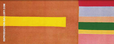 Yellow Thrust 1968 By Jack Bush