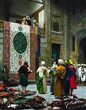 The Carpet Merchant c1887 By Jean Leon Gerome