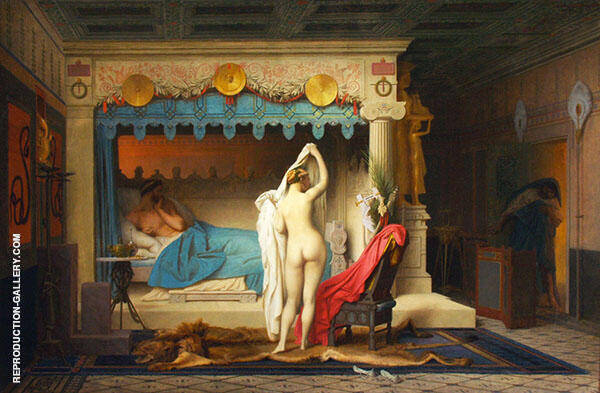 King Candaules 1859 Painting By Jean Leon Gerome - Reproduction Gallery