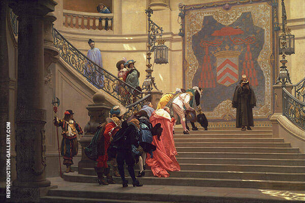 Eminence Grise Gerome Painting By Jean Leon Gerome - Reproduction Gallery
