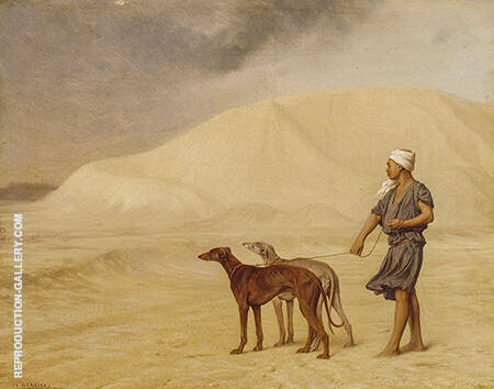 On the Desert c1867 By Jean Leon Gerome
