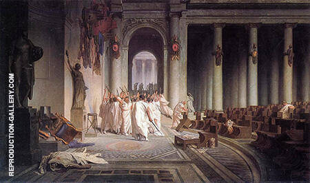 The Death of Caesar 1867 By Jean Leon Gerome