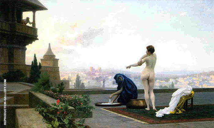 Bathsheba 1889 Painting By Jean Leon Gerome - Reproduction Gallery