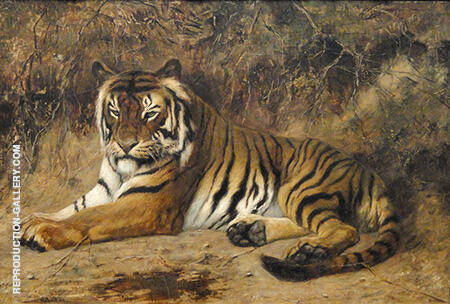 Tiger By Jean Leon Gerome