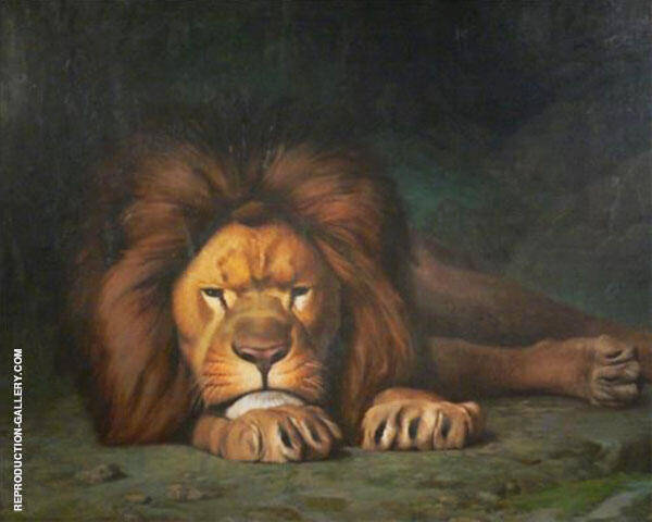 Nominor Leo Painting By Jean Leon Gerome - Reproduction Gallery