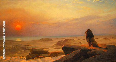 The Two Majesties By Jean Leon Gerome - Oil Paintings & Art Reproductions - Reproduction Gallery