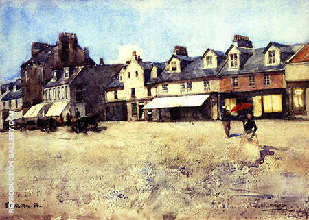 At Helensburgh By Arthur Walton - Oil Paintings & Art Reproductions - Reproduction Gallery
