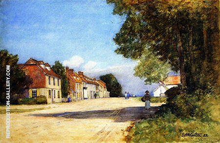 Winchelsea 1882 By Arthur Walton - Oil Paintings & Art Reproductions - Reproduction Gallery