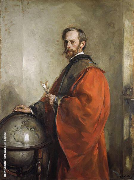 John George Bartholomew 1911 By Arthur Walton - Oil Paintings & Art Reproductions - Reproduction Gallery