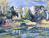 Paysage By Charles Camoin