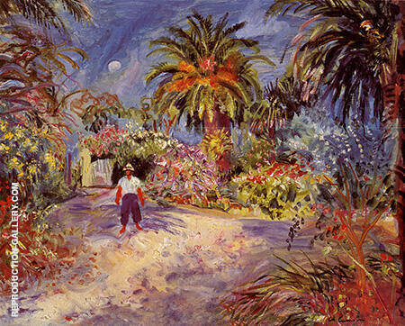 Jardin a Saint-Tropez 1935 By Charles Camoin