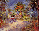 Jardin a Saint-Tropez 1935 By Charles Camoin
