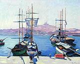 Le Port de Marseille c1904 By Charles Camoin