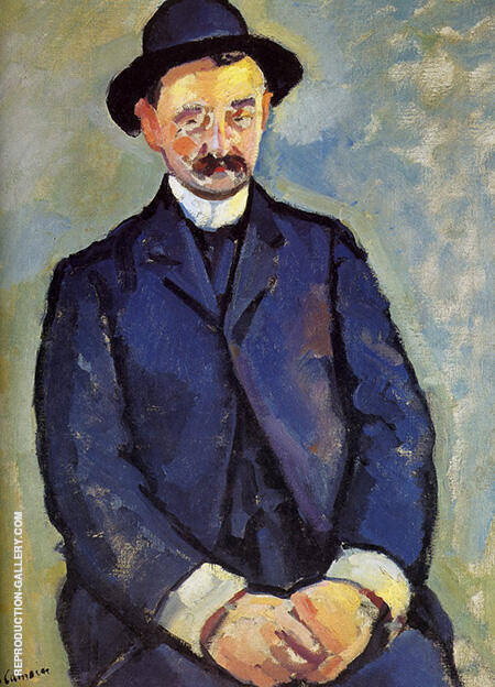 Albert Marquet 1904 By Charles Camoin - Oil Paintings & Art Reproductions - Reproduction Gallery