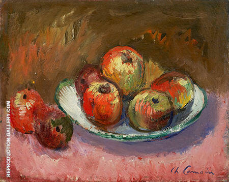 Pommes 1920 Painting By Charles Camoin - Reproduction Gallery