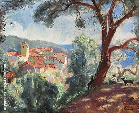 Ramatuelle c1925 By Charles Camoin