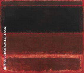 Four Darks in Red 1958 By Mark Rothko