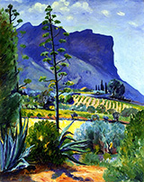 The Aloes in Bloom Cassis 1912 By Henri Manguin