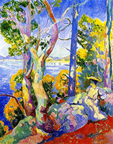 Morning at Cavaliere 1906 By Henri Manguin