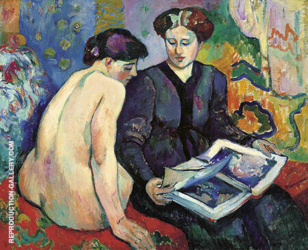 The Prints 1905 By Henri Manguin