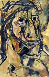 Head of Christ By George Rouault