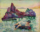 Le Rocher 1906 By Henri Manguin