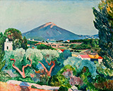 View of Six Fours from Sanary 1911 By Henri Manguin