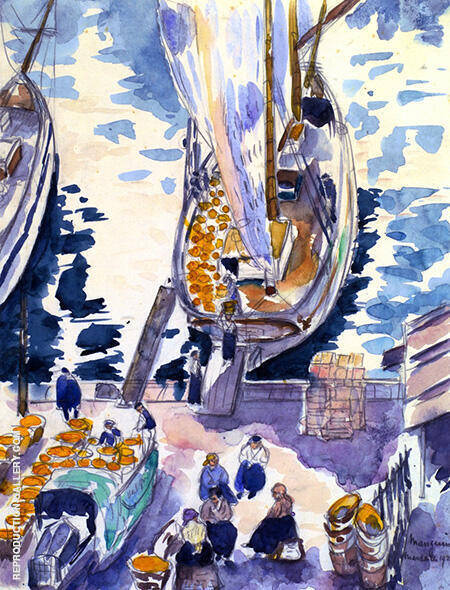 Shipment of Oranges 1923 By Henri Manguin