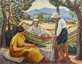 Le Filet 1911 By Henri Manguin