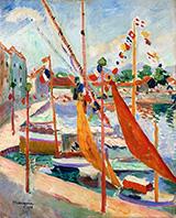 St. Tropez 1905 By Henri Manguin