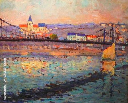 Triel sur Seine 1904 By Robert Antoine Pinchon