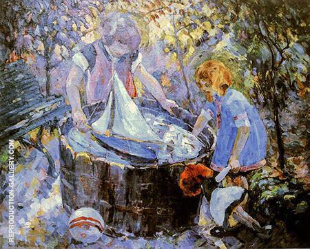 Le Baquet By Robert Antoine Pinchon