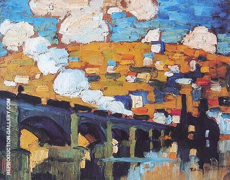 Le Pont aux Anglais 1905 By Robert Antoine Pinchon