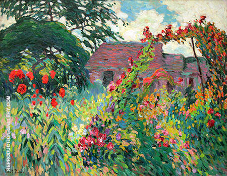 The Garden of Papavers 1906 By Robert Antoine Pinchon