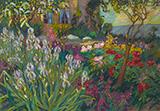 The Iris Garden 1920 By Robert Antoine Pinchon