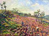 Working in the Field 1903 By Robert Antoine Pinchon