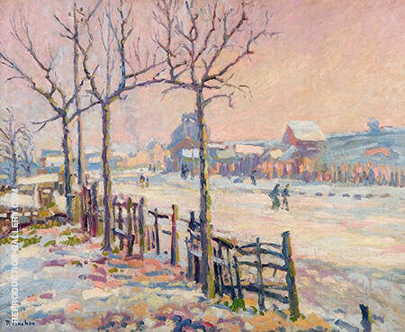 Winter Landscape 1905 By Robert Antoine Pinchon
