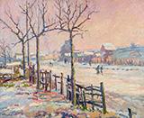 Winter Landscape 1905 By Robert Antoine Pinchon