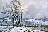 Le Chemin des Bulins c1924 By Robert Antoine Pinchon
