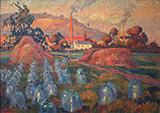 Le Jardin Maraicher 1921 By Robert Antoine Pinchon