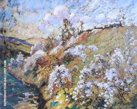 Le Talus De Chemin De Fer 1912 By Robert Antoine Pinchon