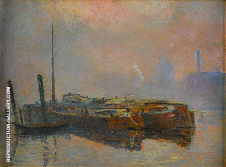 Dans La Brume 1909 By Robert Antoine Pinchon