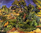 Trees in Cassis By Emile Othon Friesz