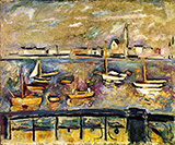 Harbour of Antwerp By Emile Othon Friesz