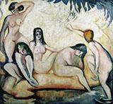 Les Baigneuses 1907 By Emile Othon Friesz