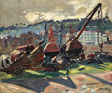 Port de Honfleur 1905 By Emile Othon Friesz